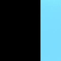 Nero - cristallo azzurro