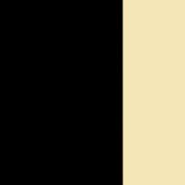 Nero - cristallo giallo paglia