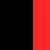 Nero - cristallo rosso