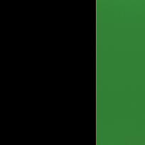 Nero - cristallo verde
