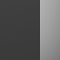 Nero opaco - cristallo opaco