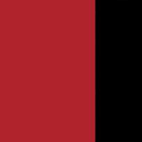 Rosso pastello - nero