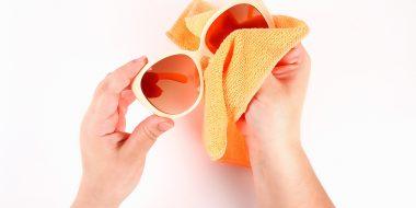 Come pulire gli occhiali da sole?