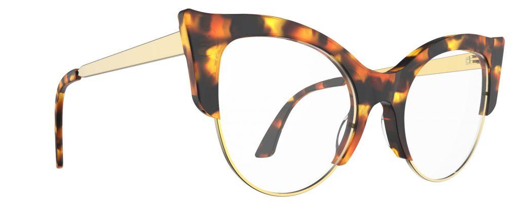 occhiali da sole cateye